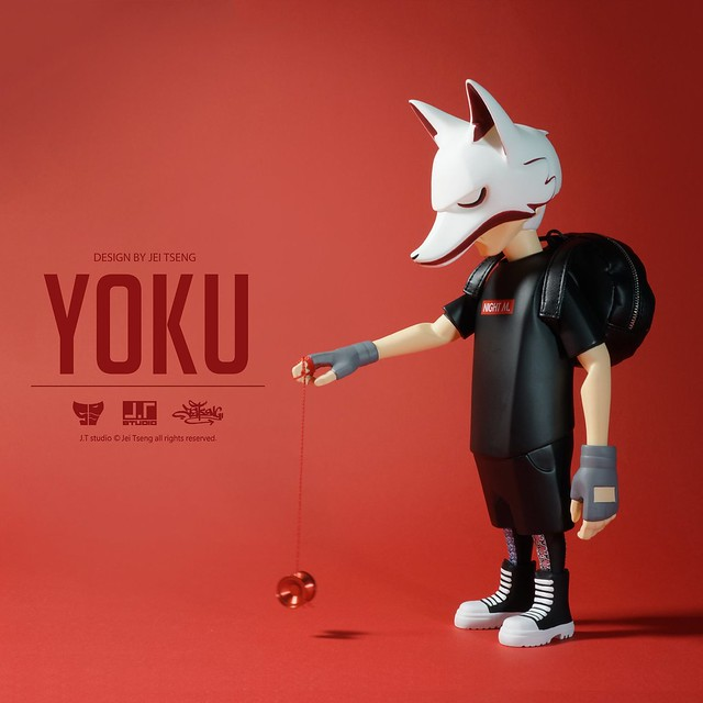 J.T studio 8″ Vinyl 系列【YOKU】搪膠人偶作品