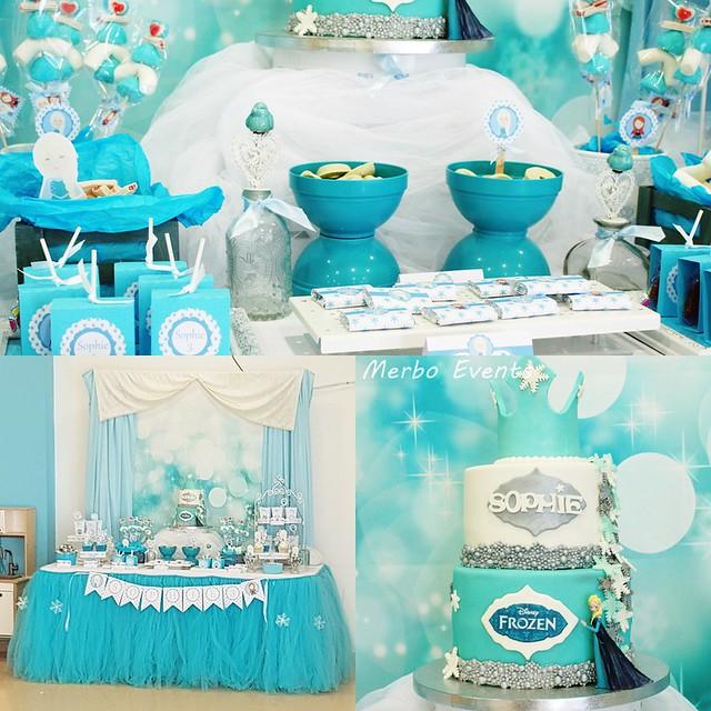 Cumpleaños Frozen Merbo Events
