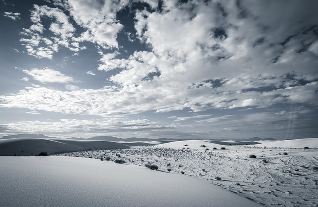 Desaturated White Sands