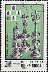 Guinea Bissau (07) 1983 Chess