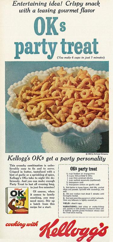 Kellogg's OK's 1962