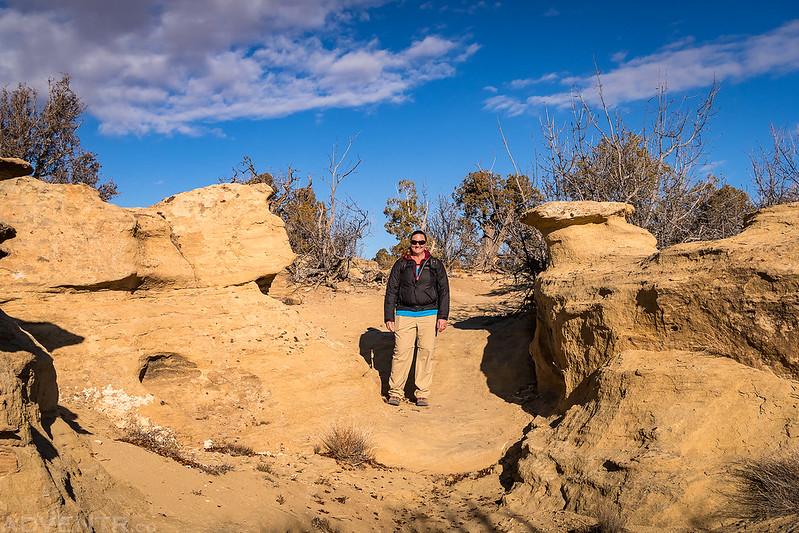 Between Rocks