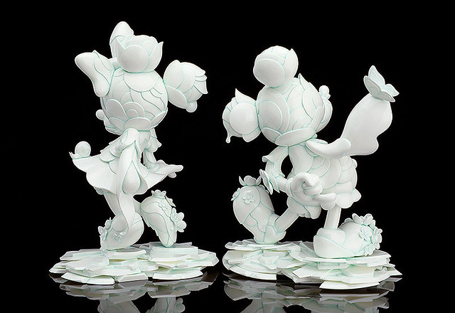 JAMES JEAN × GOOD SMILE COMPANY × DISNEY 米奇 & 米妮 90週年紀念雕像 / 盲抽盒玩 MICKEY MOUSE & MINNIE MOUSE 90TH ANNIVERSARY EDITION