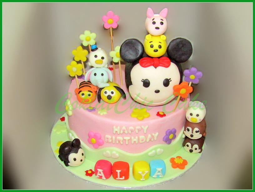 Cake Disney Tsum Tsum ALYA 20 cm