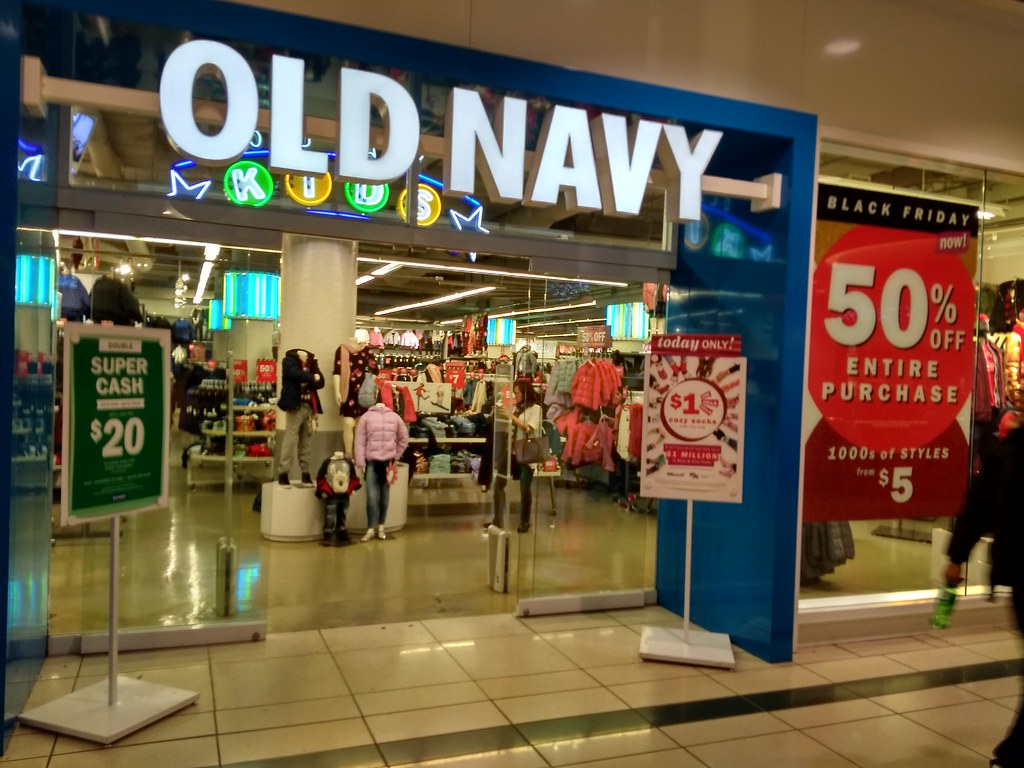 Old Navy 50% OFF Entire Purchase