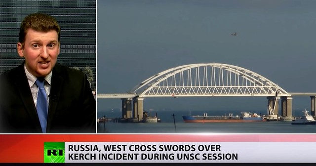 The Kerch Strait Incident by Finian Cunningham + US Will Take Advantage of Ukraine-Russia Standoff