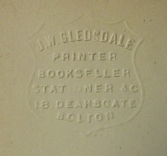 Penn Libraries 811W YCla copy 2: Stamp -- blind or embossed