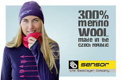 Známe vítěze soutěže o trika Sensor Merino Extreme