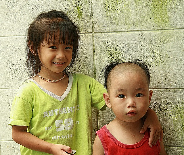 sister with little mao tse tung