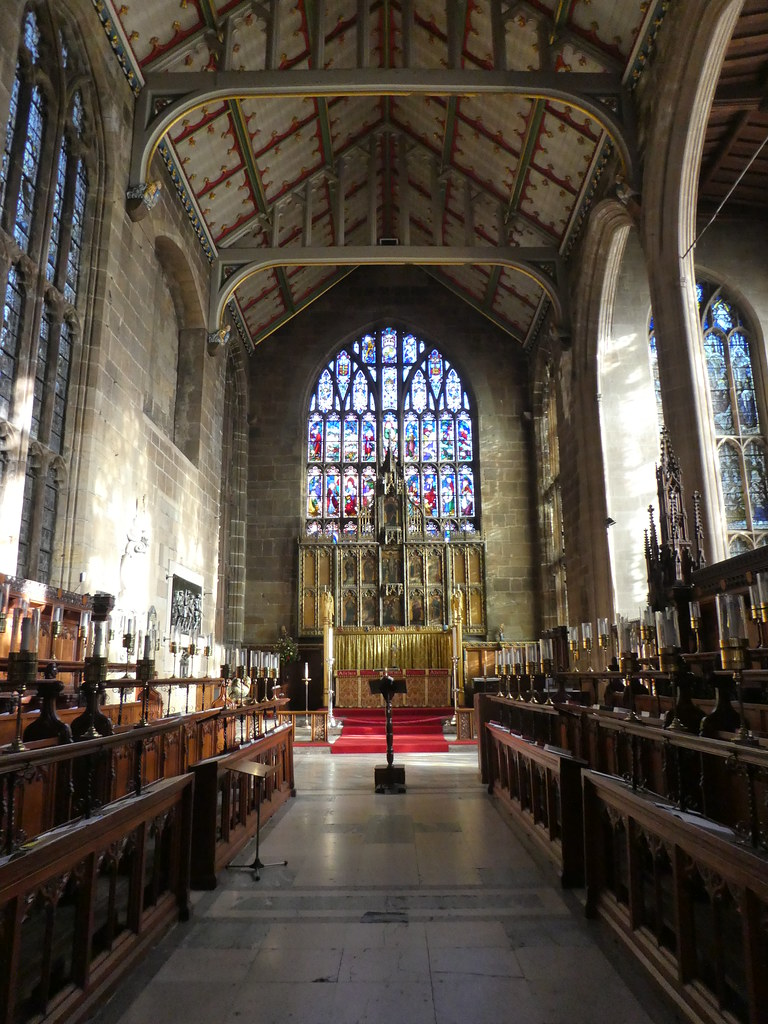 The church of St. Mary, Nottingham