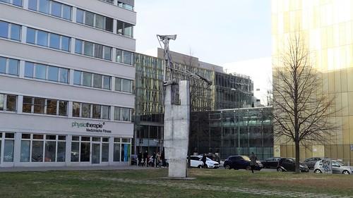 1999/2000 Berlin Skulptur von Pomona Zipser Aluminium Rudi-Dutschke-/Lindenstraße in 10969 Kreuzberg