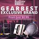 GearBest Exclusive Brands! $5 OFF Over $50 promotion