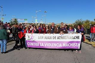 III Marcha contra las violencias hacia las Mujeres