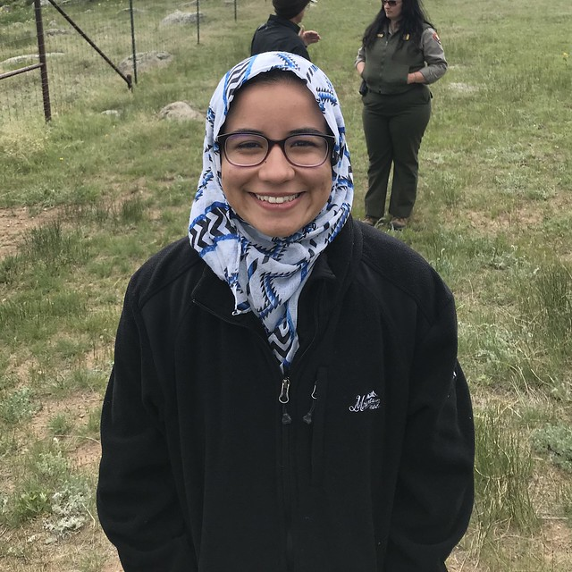 Tasnim Meloulli is a part of the Youth Climate Justice Spokesperson Bureau