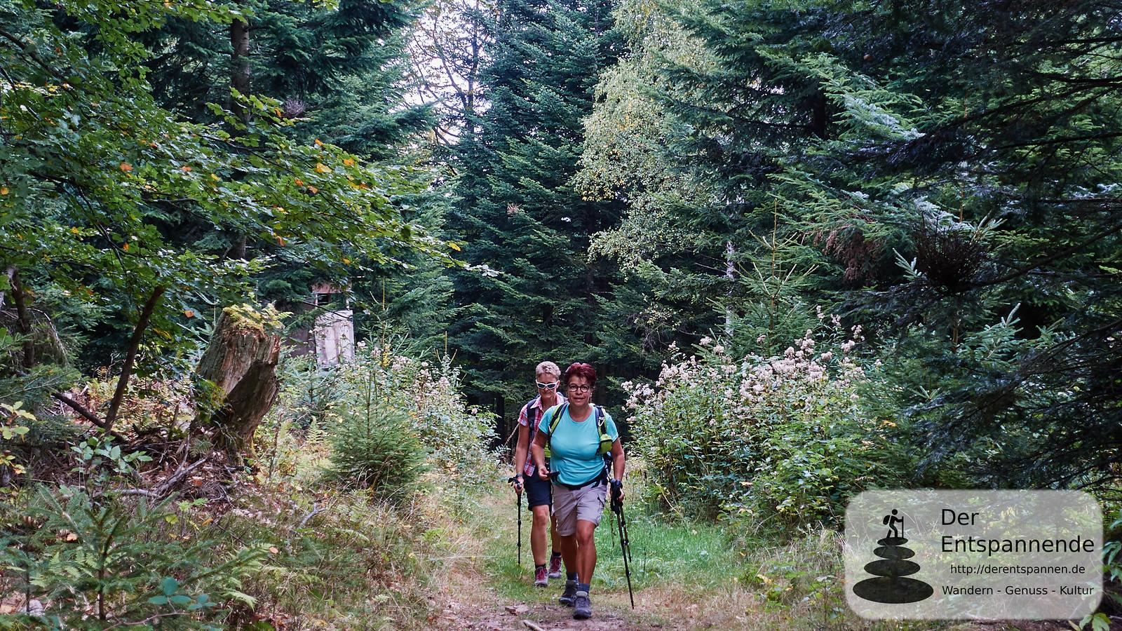 Claudia und Anita auf dem Albtal.Abenteuer.Track