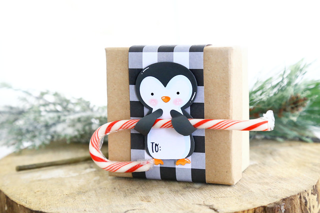 Penguin treat holder (Neat and Tangled release week)