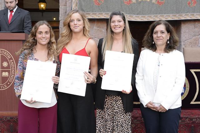 Facultad de Educación titula a sus alumnos de Pedagogía Básica, Párvulos y Media