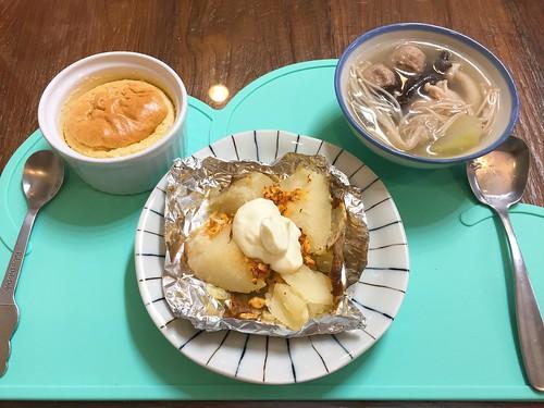 20171206早餐焗烤馬鈴薯