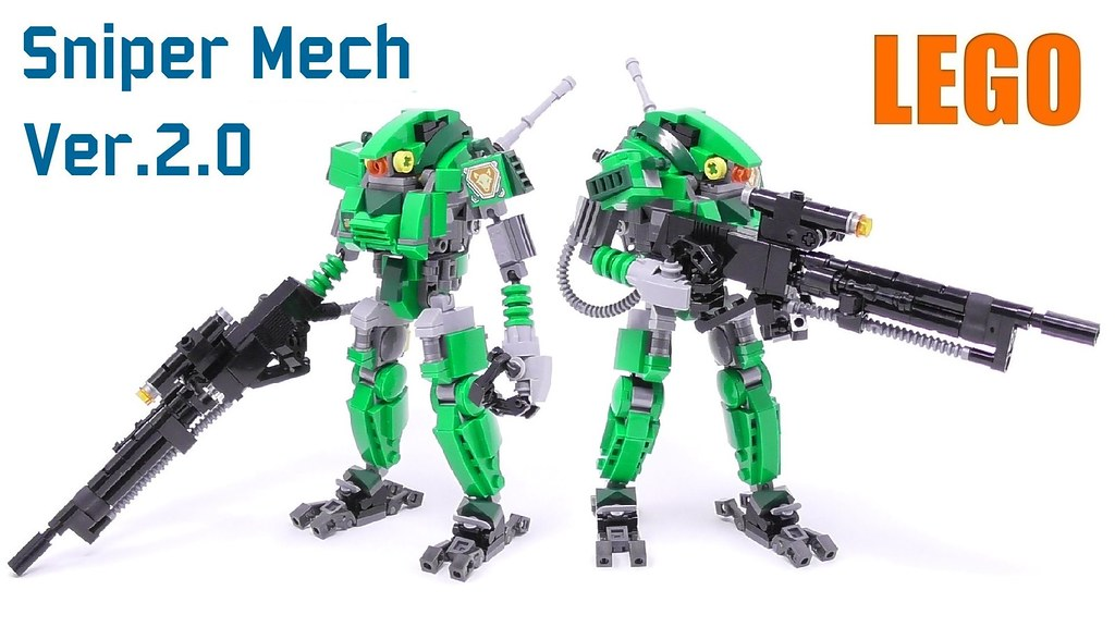 Sniper Mech Suit Ver 2 0 | Video with build instructions on