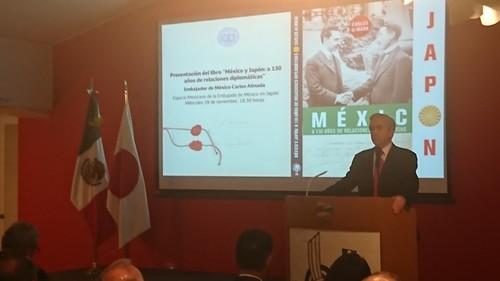 Presentación del libro México y Japón, a 130 años de relaciones diplomáticas