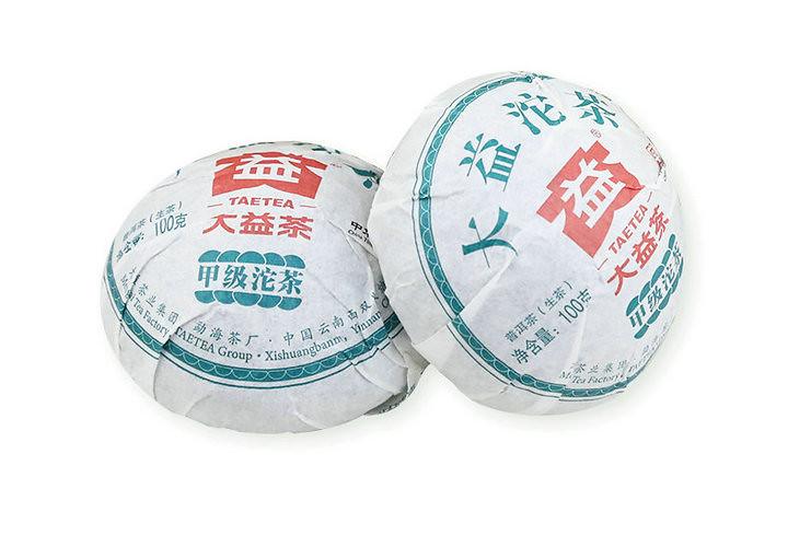 2018 DaYi JiaJi Tou Bowl  100g*5pcs=500g Puerh Raw Tea Sheng Cha