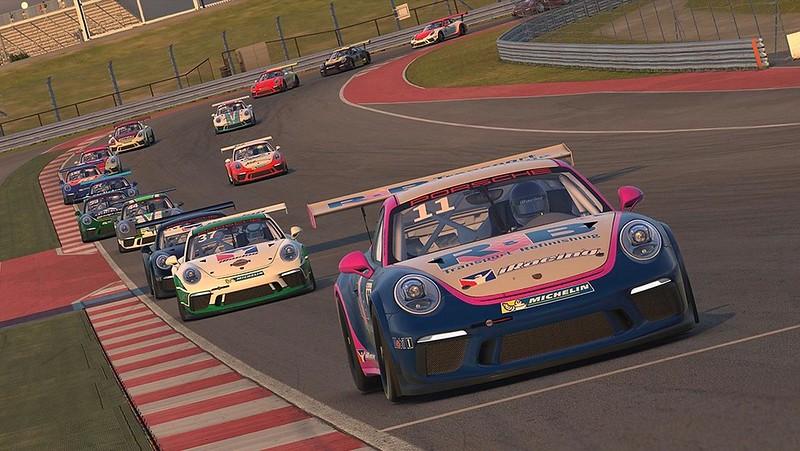 iRacing Porsche GT3 1
