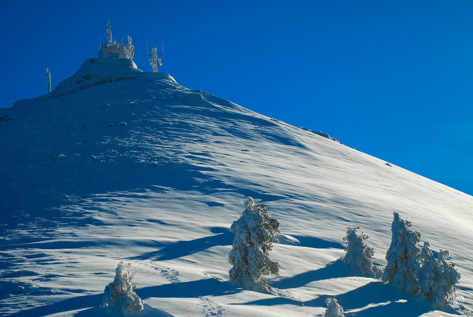 Última rampa hacia la cumbre