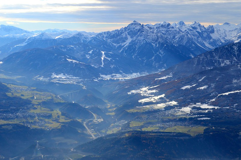 This is a picture of the Austrian Alps