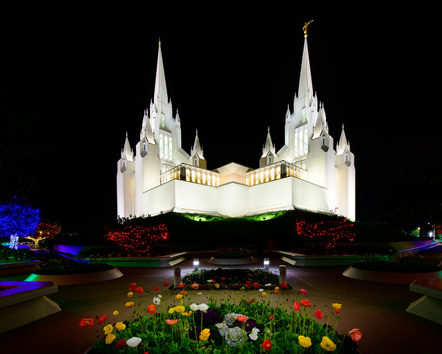 LDS Temple, La Jolla