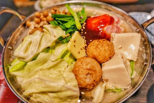 【日本酒と楽しむ鍋】鶏味噌鍋
