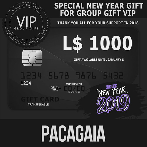 Pacagaia - NEW GROUP GIFT VIP FOR LIMITED TIME!!