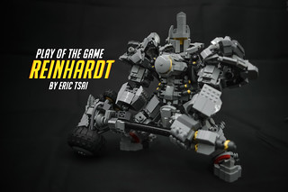 LEGO Reinhardt | by The real Eric Tsai