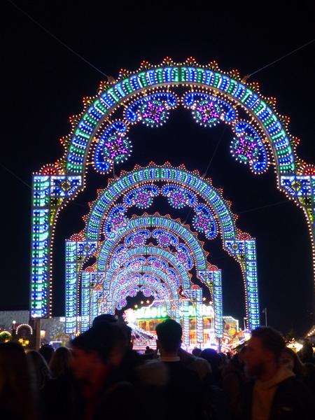 portique lumineux
