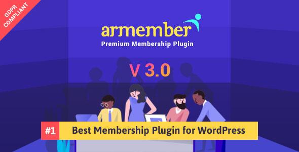 ARMember v3.0 – Complete WordPress Membership System