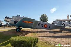 T2B-211-911-16---102---Spanish-Air-Force---CASA-352L-JU52---Madrid---181007---Steven-Gray---IMG_1530-watermarked