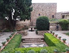 Alcazaba courtyard garden