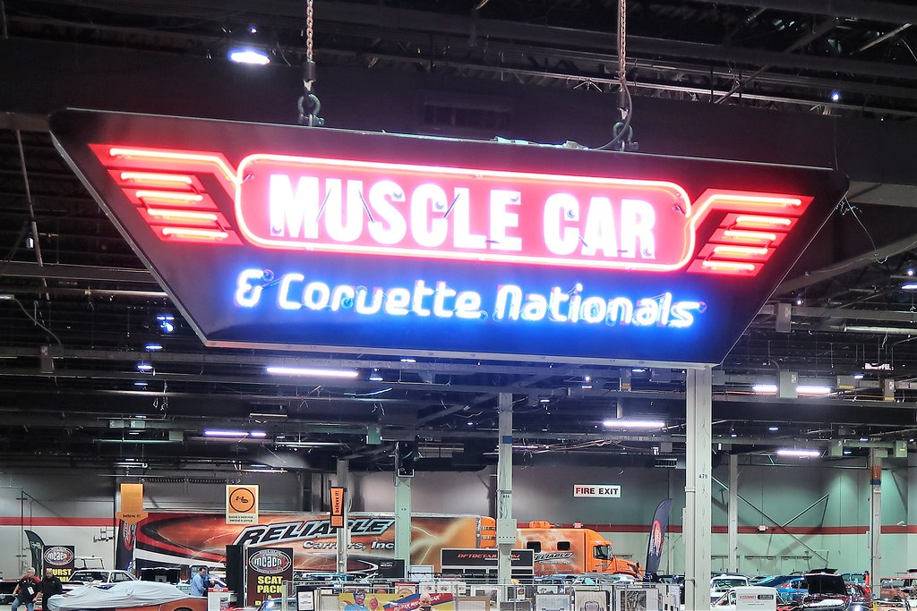 2018 Muscle Car And Corvette Nationals (MCACN), Rosemont, IL (Chicago) - 11/16 & 11/17