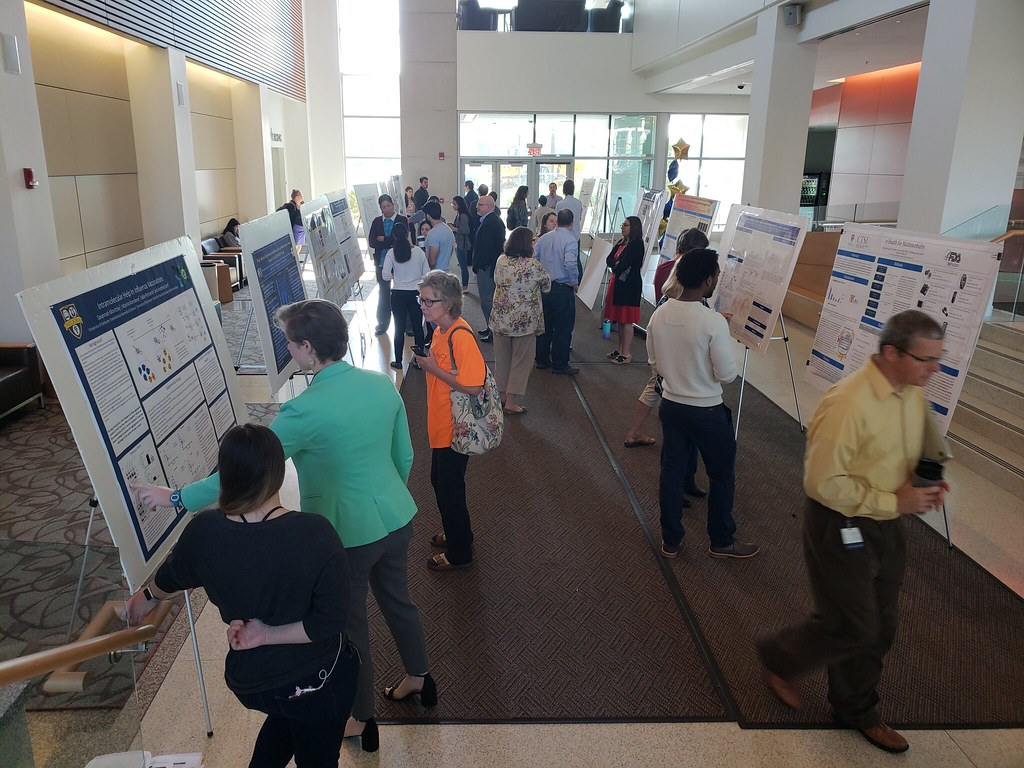 TBS trainees present posters on their research
