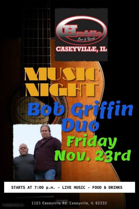 Bob Griffin Duo 11-23-18