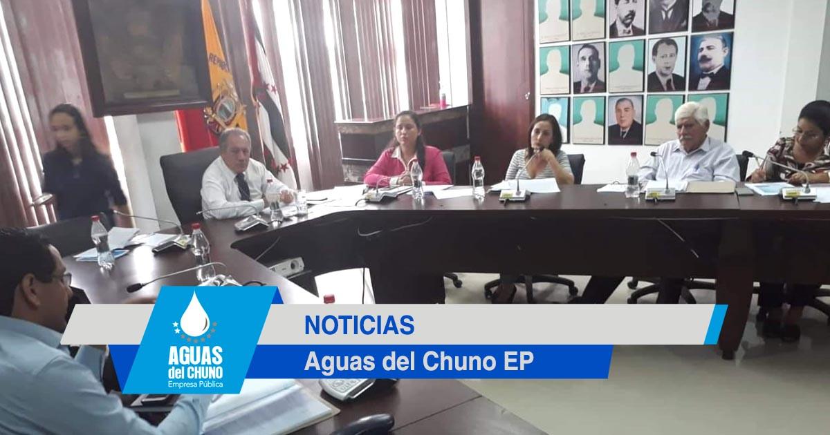 Directorio de Aguas del Chuno revisó fines institucionales