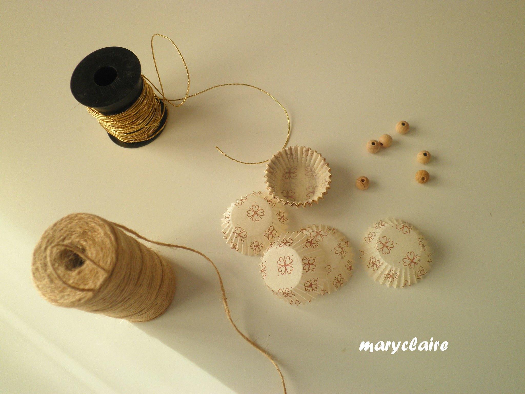 materiali angioletti con pirottini