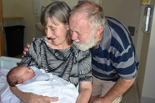 Paul & Jill Weaver with grandson Levi 13 Dec 2018