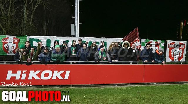 Jong FC Utrecht - FC Dordrecht 14-12-2018