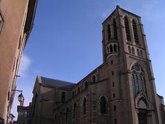20080516 23600 0906 Jakobus Montbrison Kirche Turm Fassade