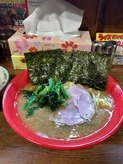 Ramen and rice at musashiya, kichijoji