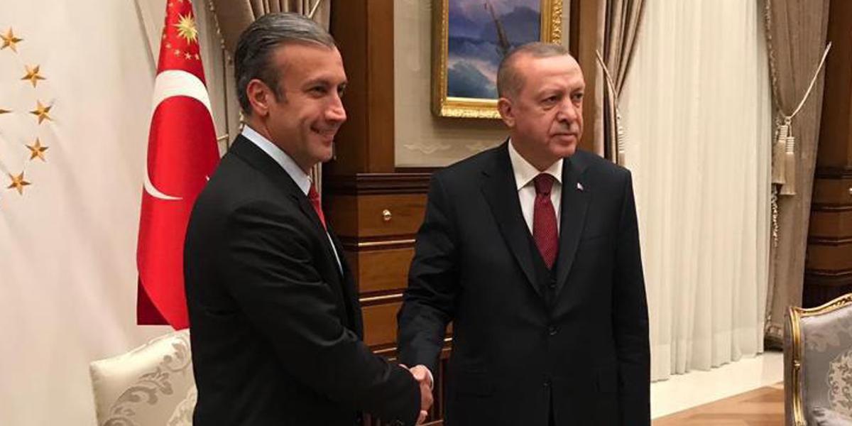 El Aissami: este 2019 se consolidará aún más nuestra alianza estratégica con Turquía