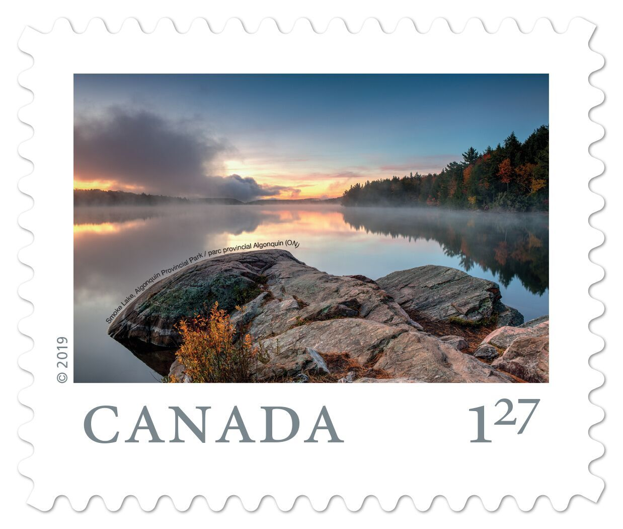 Canada - From Far and Wide (January 14, 2019) Algonquin Provincial Park, Ontario (U.S. rate, from booklet of 6)