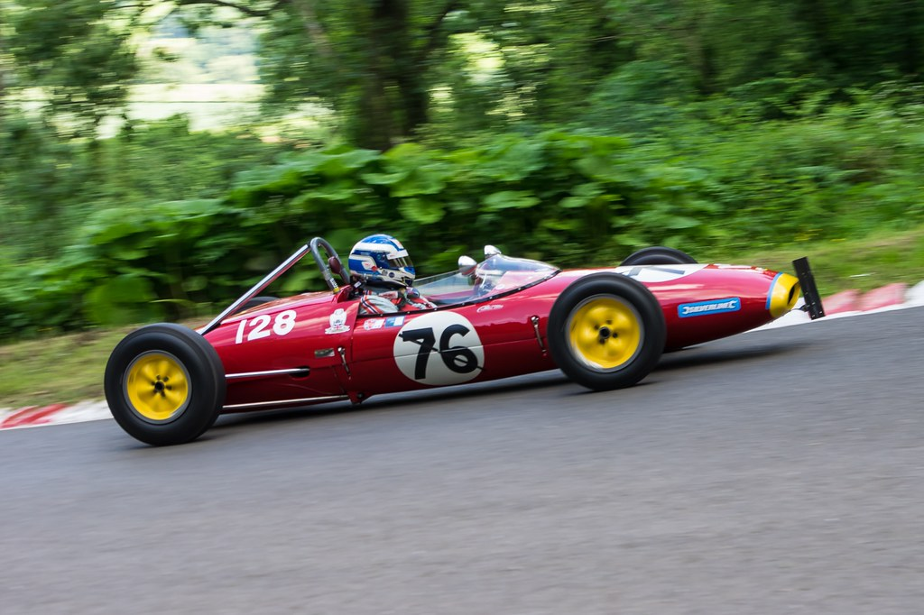 Simon Durling, Lotus 22 at Shelsley (J Hallett)