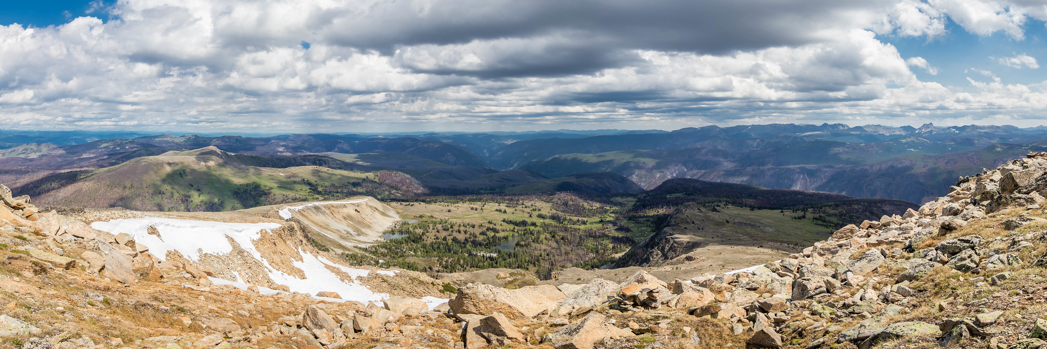 Northern panoramic view on Sheep Mountain 8274