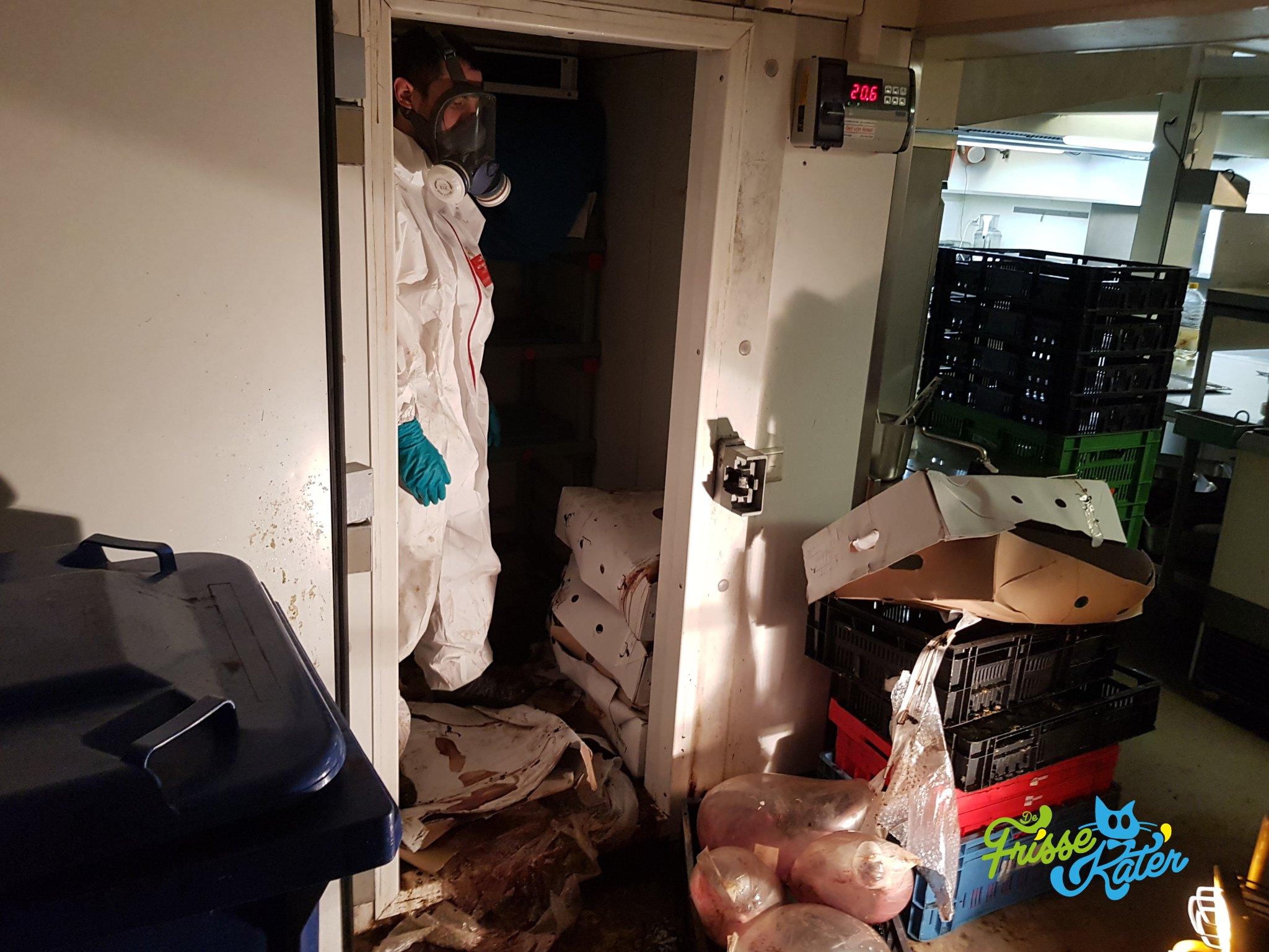 Uitgevallen vriezer / koelkast schoonmaak